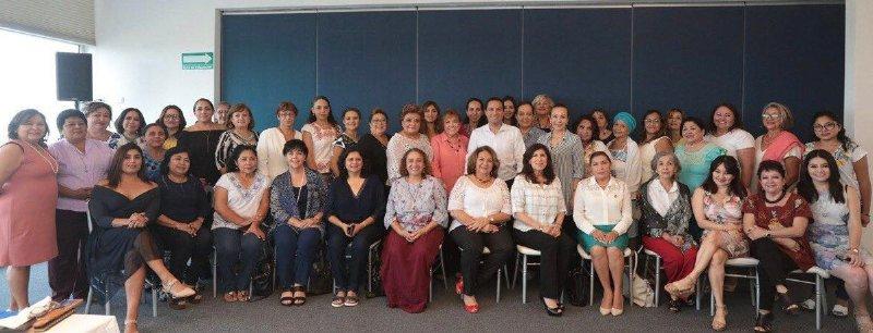 Vila sostiene compromiso con la seguridad de las mujeres en Yucatán
