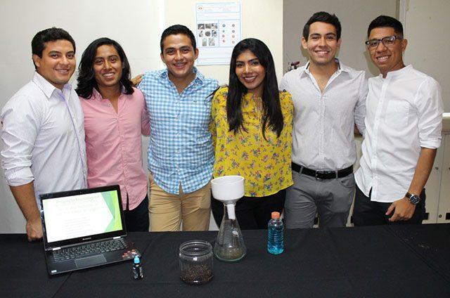Estudiantes de Universidad Anáhuac crean un biofiltro a base de sargazo