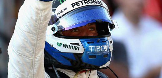 Bottas logra la pole del GP de Rusia