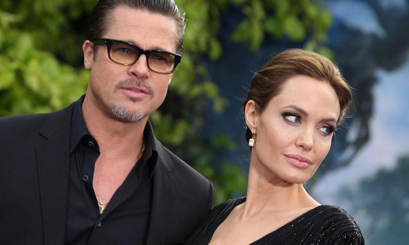 Hacen las paces Angelina Jolie y Brat Pitt