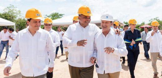 Inician construcción de  Centro de Distribución de Walmart Yucatán.