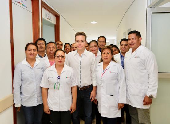 Huituipán ya cuentan con un Centro de Salud con Servicios Ampliados