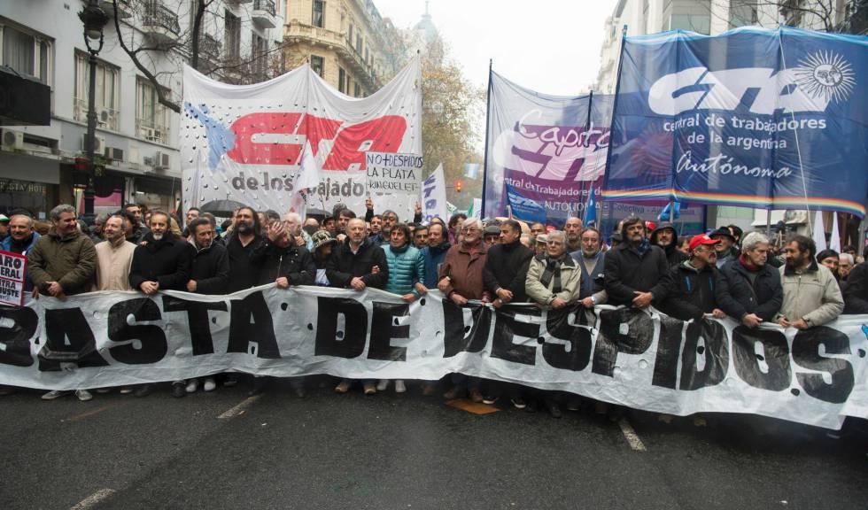 Huelga general de 24 horas paraliza Argentina