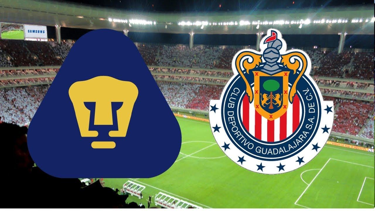 Oportunidad de Pumas para vencer a Guadalajara en Jalisco después de 36 años