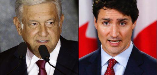 Trudeau pide ayuda a López Obrador