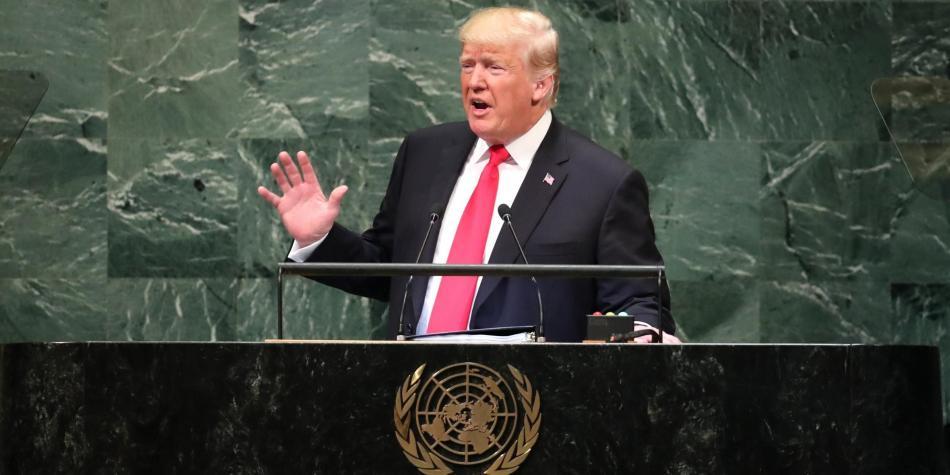 Asegura Trump que Venezuela es un desastre que tiene que ser limpiado