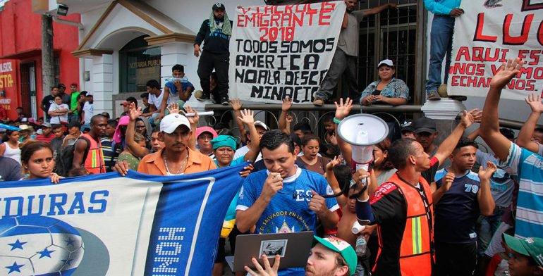 Iglesia de Tapachula ayuda a migrantes hondureños