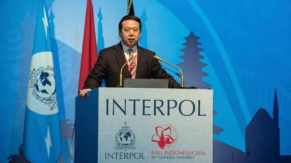 Desaparece Hongwei Meng  presidente de Interpol