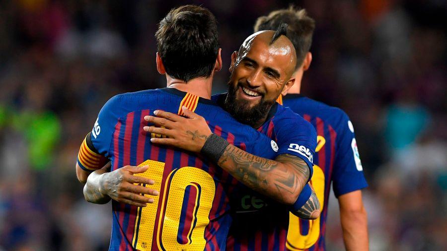 Messi, lleva a el Barcelona al triunfo