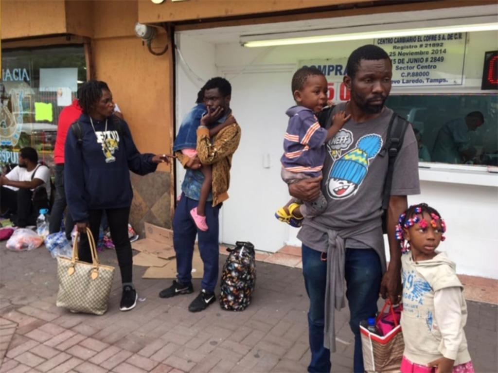 Llega a Tamaulipas éxodo de migrantes africanos
