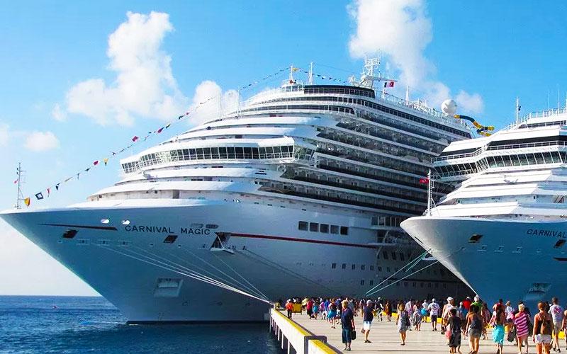 Cozumel y Mahahual van por récord de cruceros