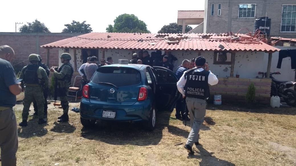 "Fiscalía de México ""CJNG detrás de enfrentamiento en Texcoco"""