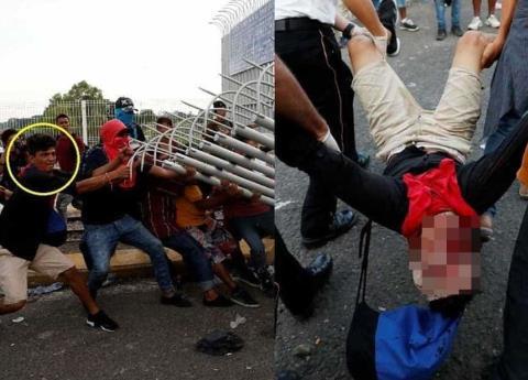 Migrante muere en la frontera de Guatemala