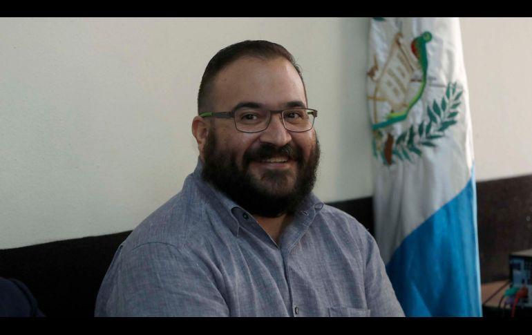 Sonreí cuando me detuvieron porque todo era parte de un circo: Javier Duarte