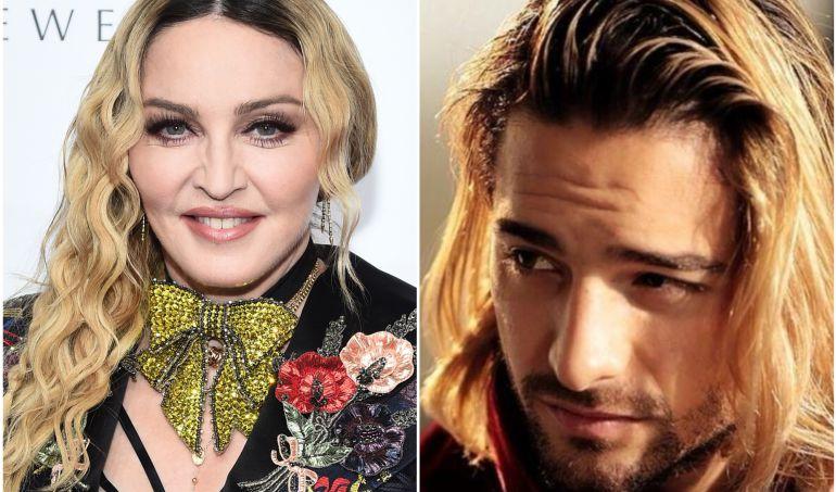 Look de Maluma causa burla en Madonna