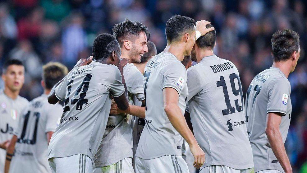 Juve mantiene paso perfecto en la Serie A