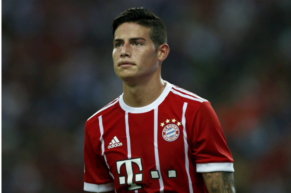 Domina la  ira a James Rodríguez