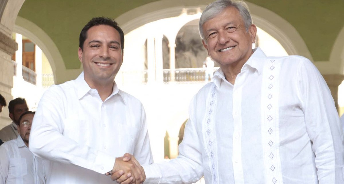 Alaga López Obrador esquema de seguridad en Yucatán