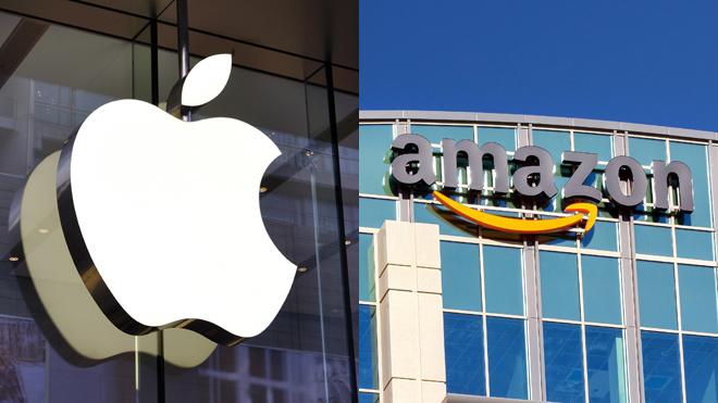 China se espía a  Apple y Amazon