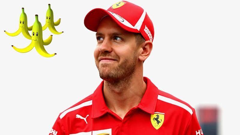 Vettel se inclina más por los plátanos de Mario Kart que el DRS en F1