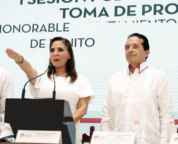 Mara Lezana Presidenta en Benito Júarez.