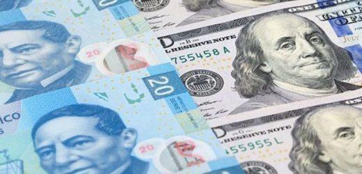 Dólar se desploma 1.01%