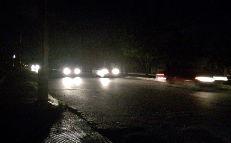 Protestan contra CFE apagando la luces en Chetumal