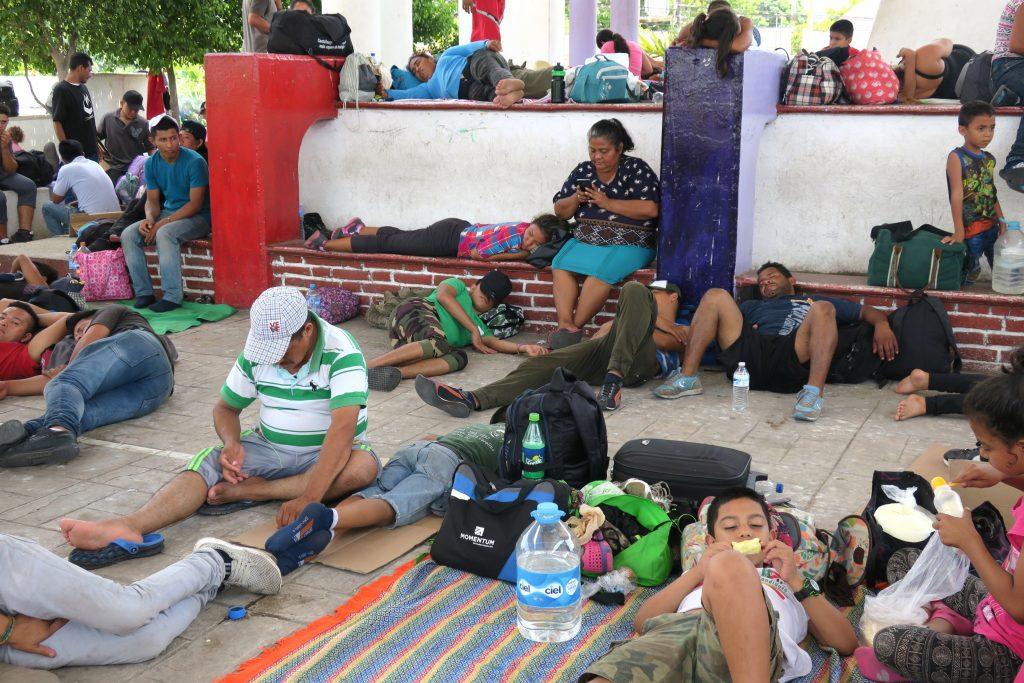 Critica a Trump a  México  por caravana de migrantes