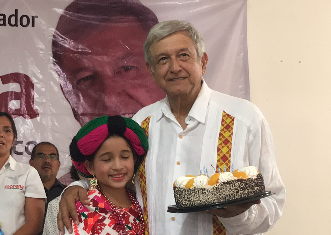 AMLO agradece todas las felicitaciones por su cumpleaños