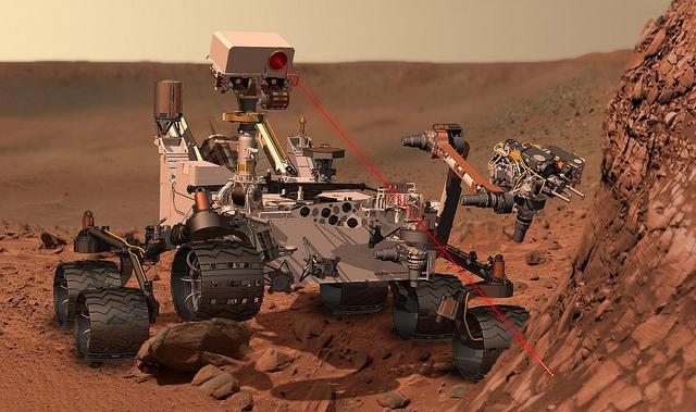 Robot de la NASA con cerebro propio aterriza en Marte.