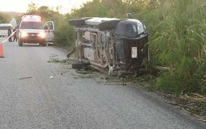 Policía rural fallece en accidente carretero