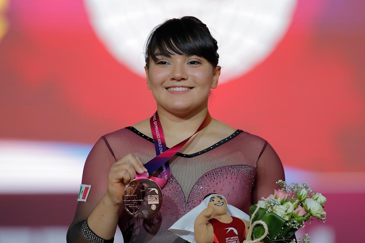México se lleva bronce en el Mundial de Gimnasia Artística de la mano de Alexa Moreno