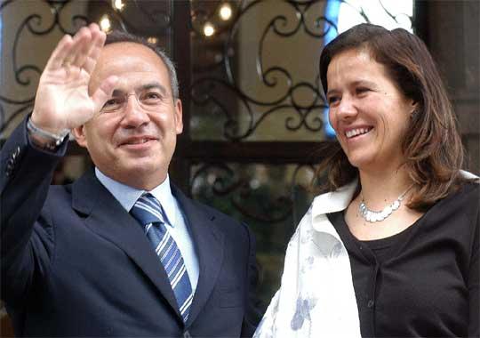 Zavala arropa al partido de Calderón