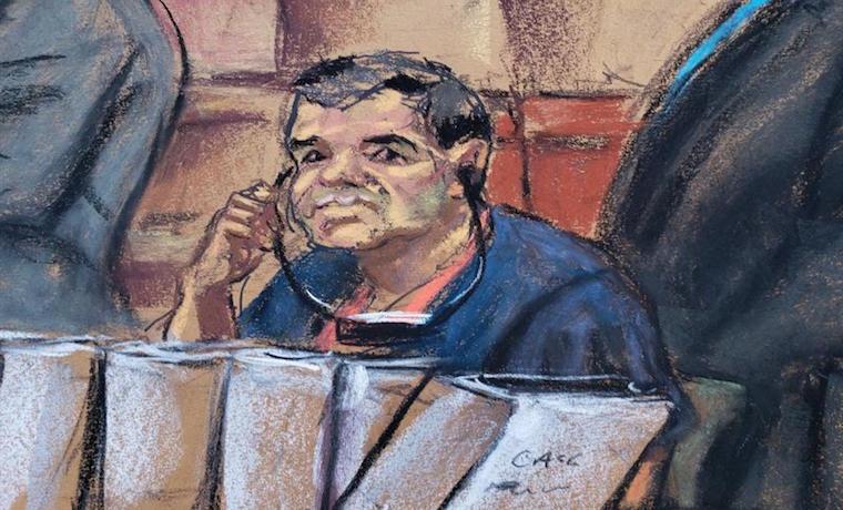 Candidato a jurado es echado por querer un autógrafo de 'El Chapo'