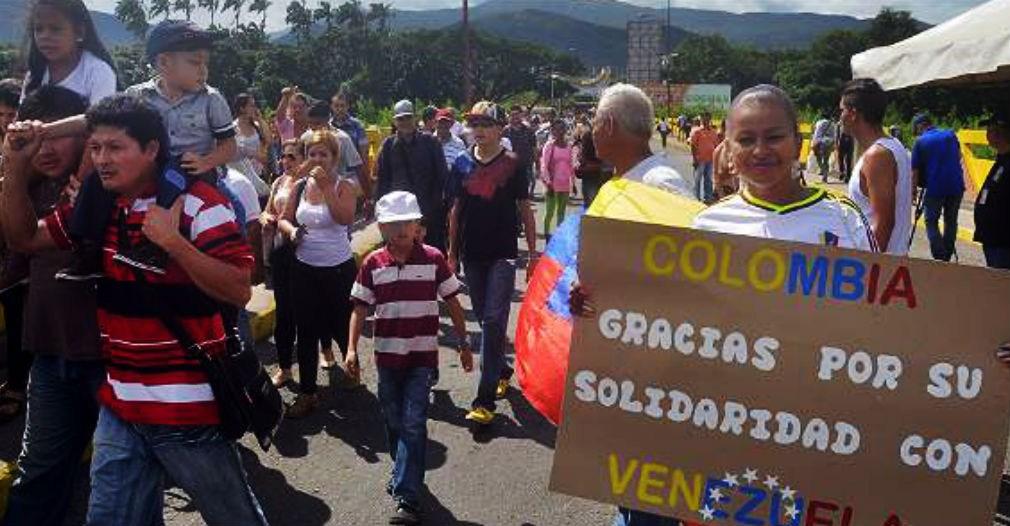 Suman mas de  un millón de venezolanos refugiados en Colombia