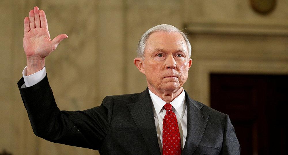 Renuncia fiscal general de Estados Unidos, Jeff Sessions