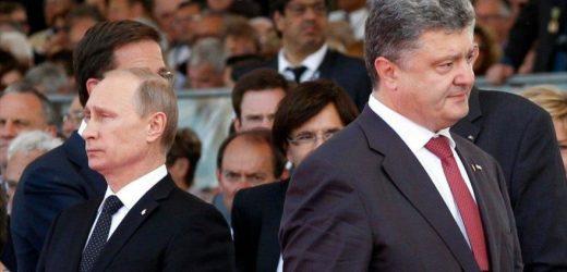 Poroshenko asegura que Putin quiere recuperar Ucrania para Rusia