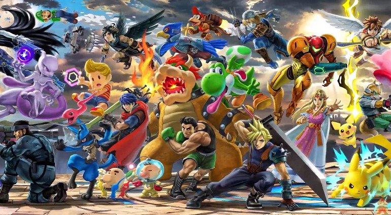 Super Smash Bros. Ultimate tiene nuevo personajes