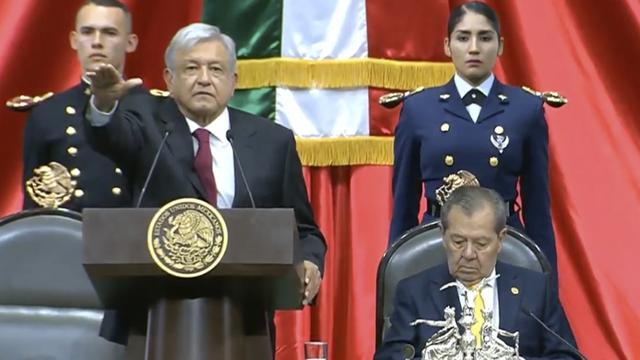 López Obrador… inicia la Cuarta Transformación de México