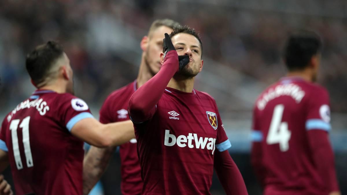 'Chicharito' ayuda con doblete en la goleada del West Ham