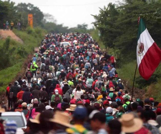 Se aproxima la madre de las caravanas, serán de 20 mil centroamericanos