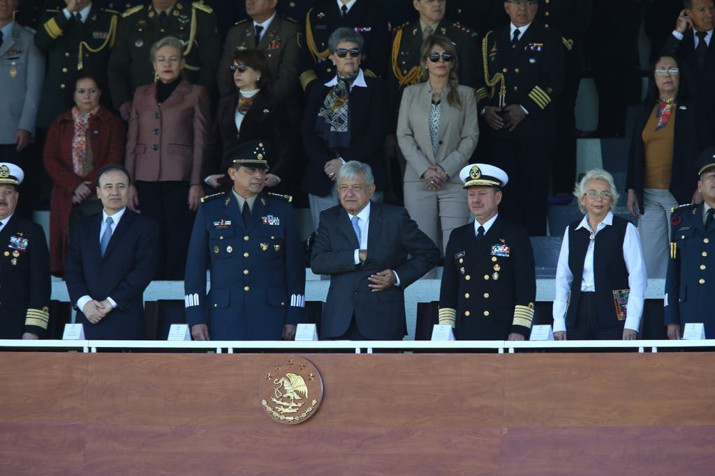 López Obrador expresa su confianza en las fuerzas armadas