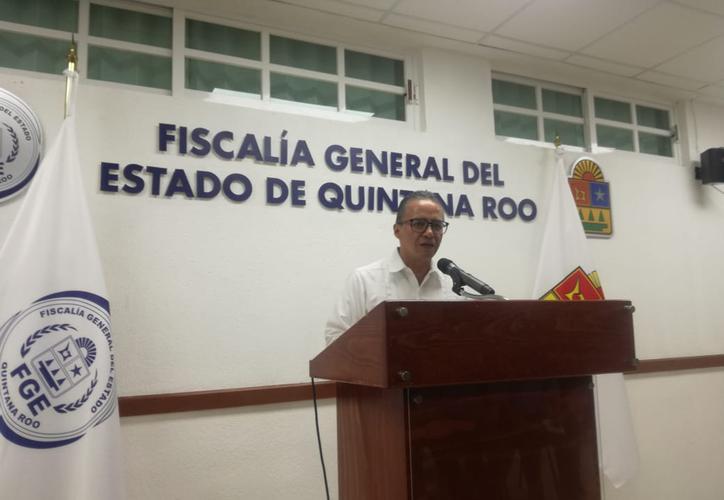 Oscar Montes de Oca Fiscal General de Q. Roo