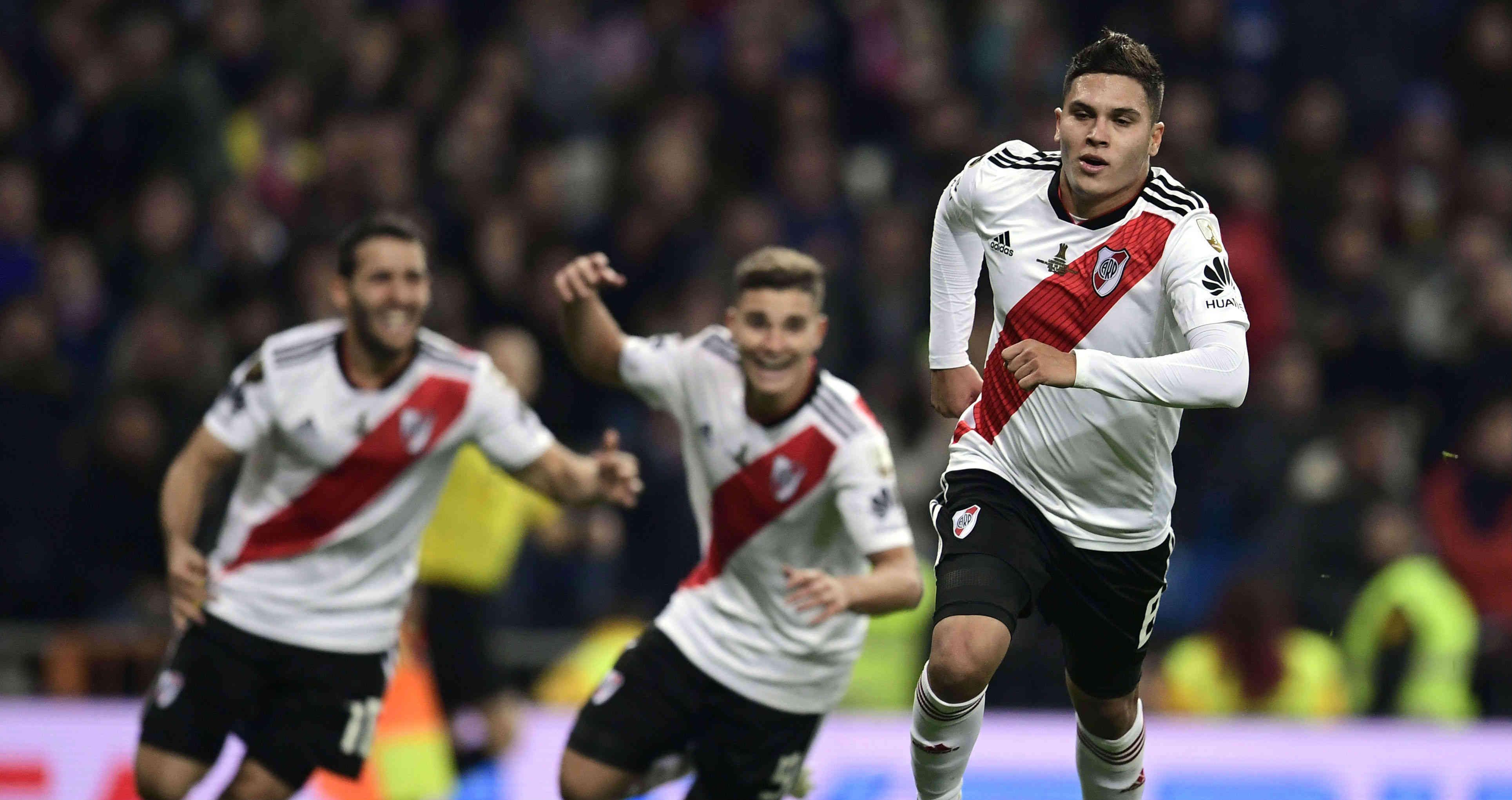 El Golazo del River para la historia en el Bernabeu en la Final de la Copa Libertadores. VIDEO