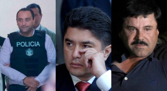 """Exgobernadores Roberto Borge y González Canto atestiguarán en juicio contra """"El Chapo"""""""