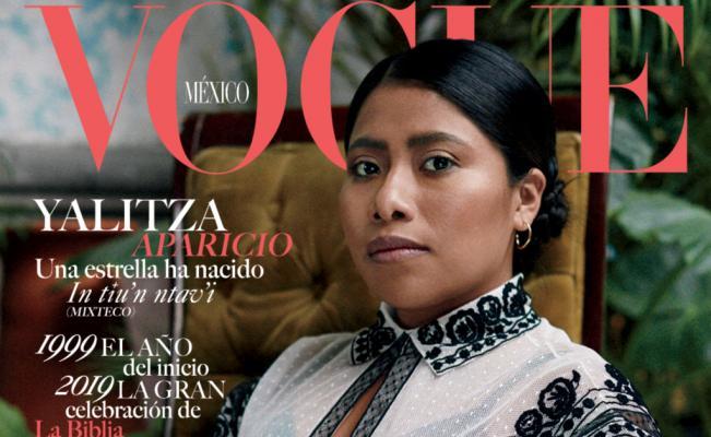 Se vuelve viral portada de Vogue por Yalitza Aparicio
