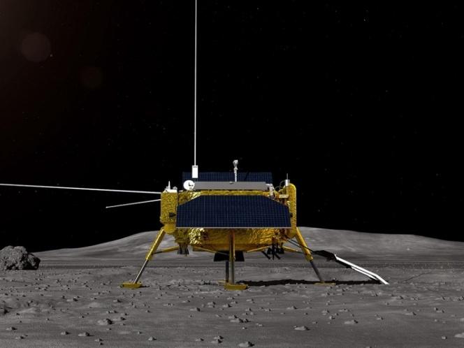 Chang'e IV realiza investigaciones en el lado oscuro de la Luna