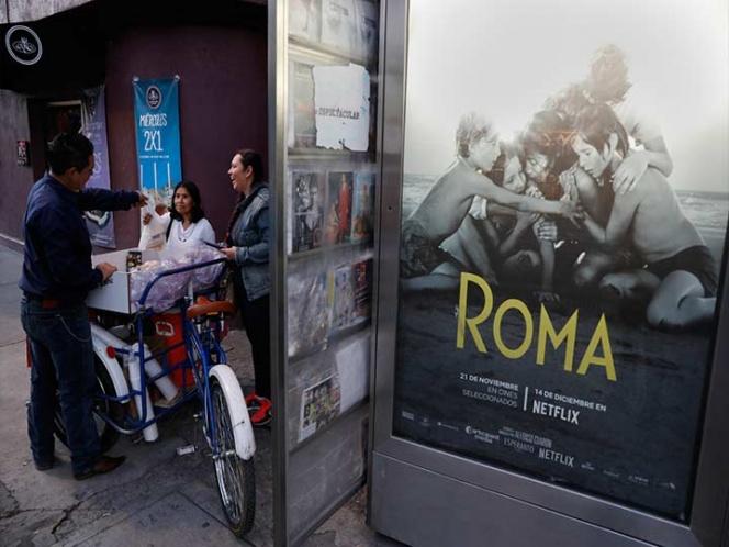 Celebran las nominaciones de 'Roma' en la misma colonia que dio origen a la misma