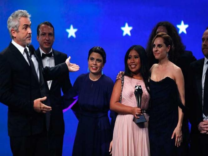 'Roma' triunfa en los premios Critics