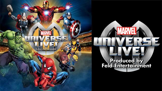 Marvel Universe Live!, una experiencia que llega al Palacio de los Deportes